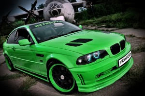 download Beautiful Green BMW M3 HD Wallpapers