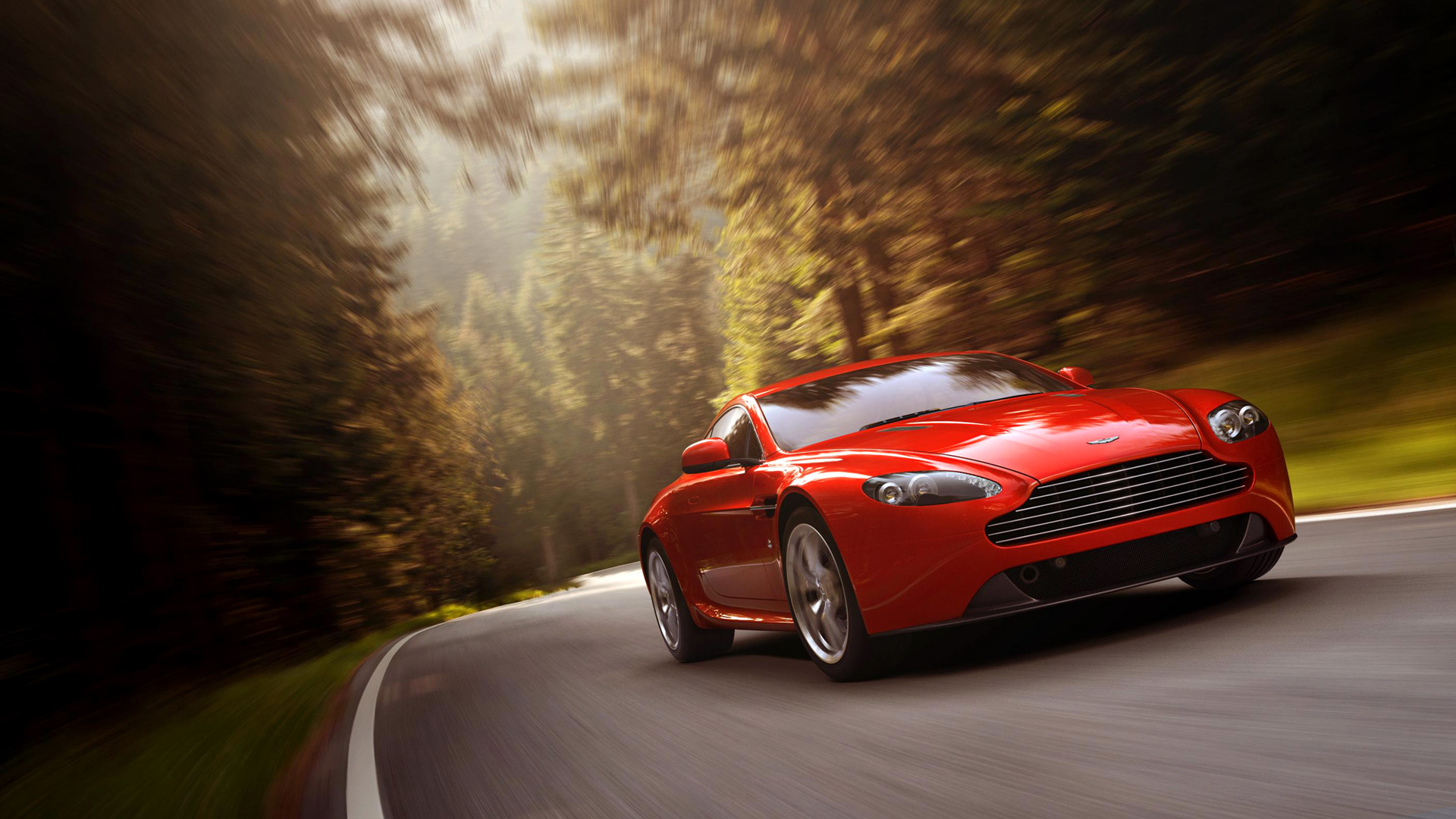 Captivating 2012 Aston Martin V8 Vantage V4 Car 1080p For Desktop