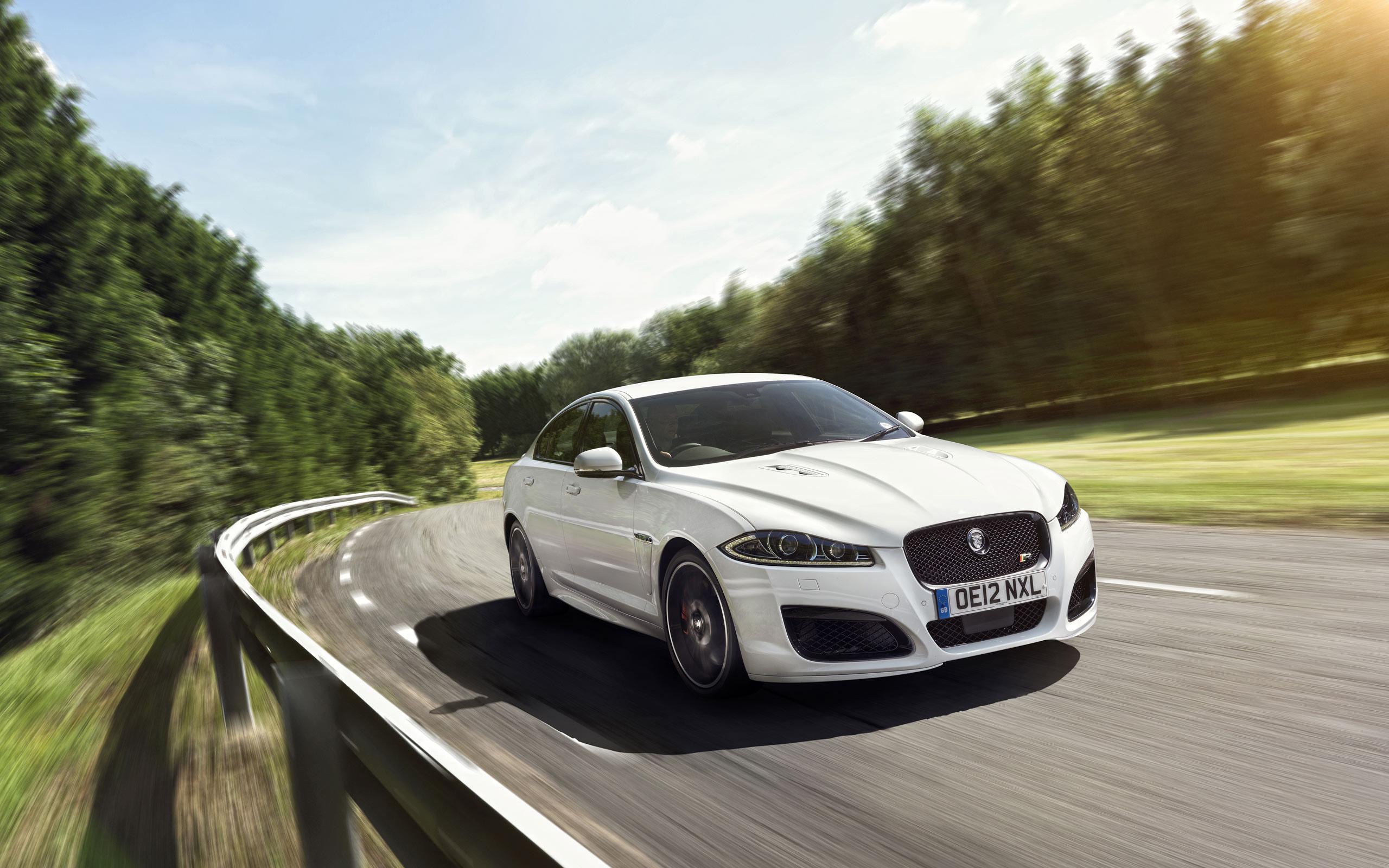 2013 Jaguar Xfr Widescreen Car Hd Wallpaper My Site