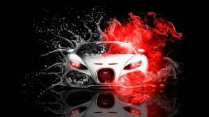 Abstract Bugatti Veyron Wallpaper free for desktop