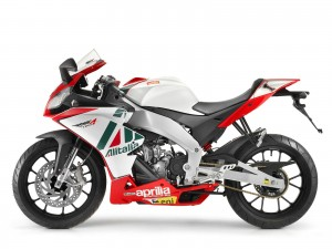 Aprilia RS4 From Side View Bikes HD Wallpapers For Desktop