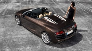 Audi r8 spider concept car HD Wallpaper