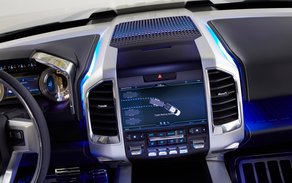 Ford Interior HD Wallpaper For Desktop