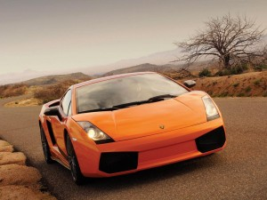 Front View Of Lamborghini Gallardo Wallpaper in Hd Resolutions