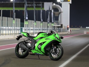 Green Kawasaki Ninja ZX 10R Bikes HD Wallpaper