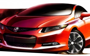 download Awesome Honda City Sketch HD Wallpapers