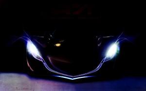 Sports Car Lights for desktop backgrounds