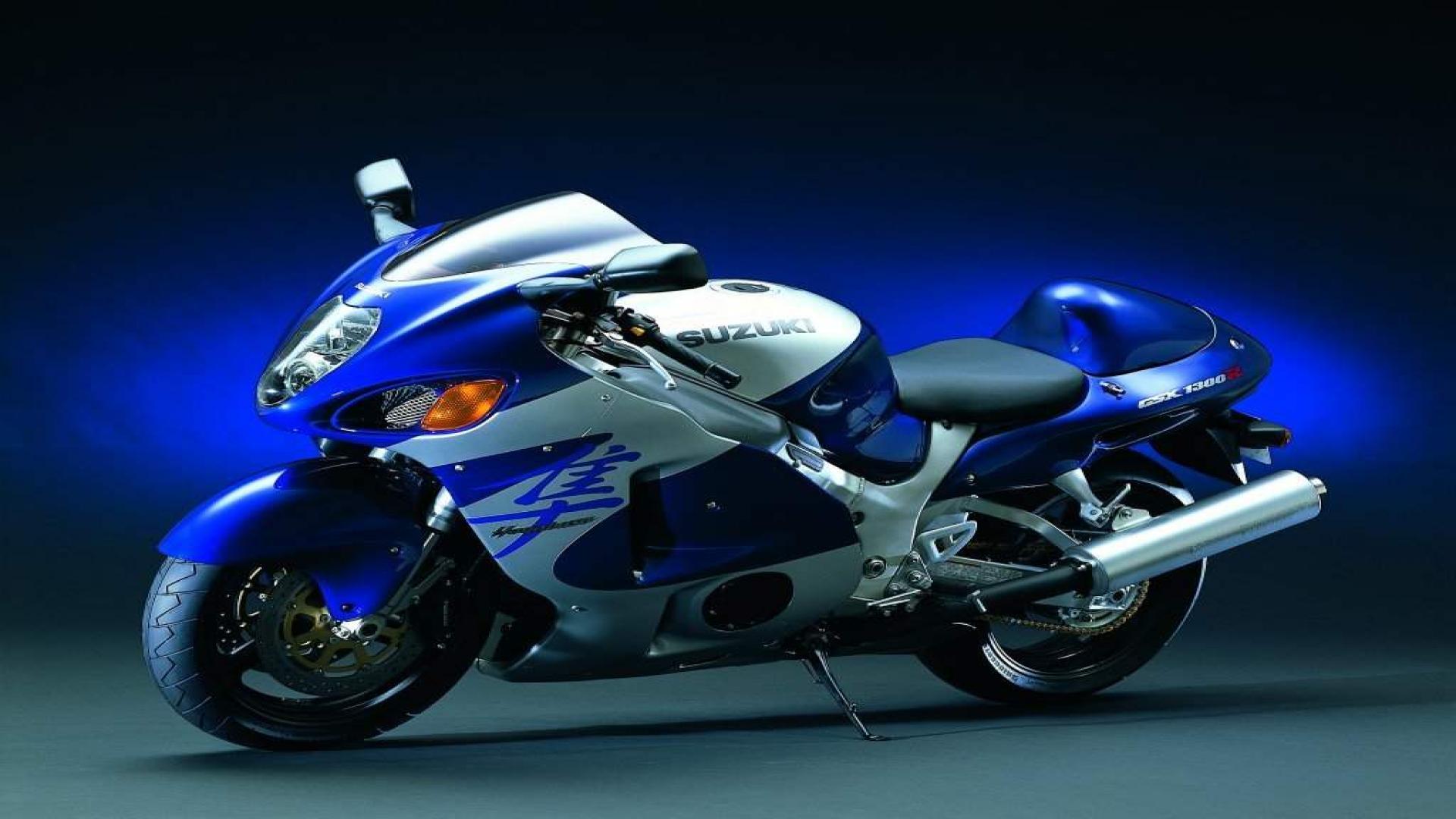 Blue Heavy Bike Hd Wallpaper: Suzuki Heavy Bike 1080p Wallpapers 2013