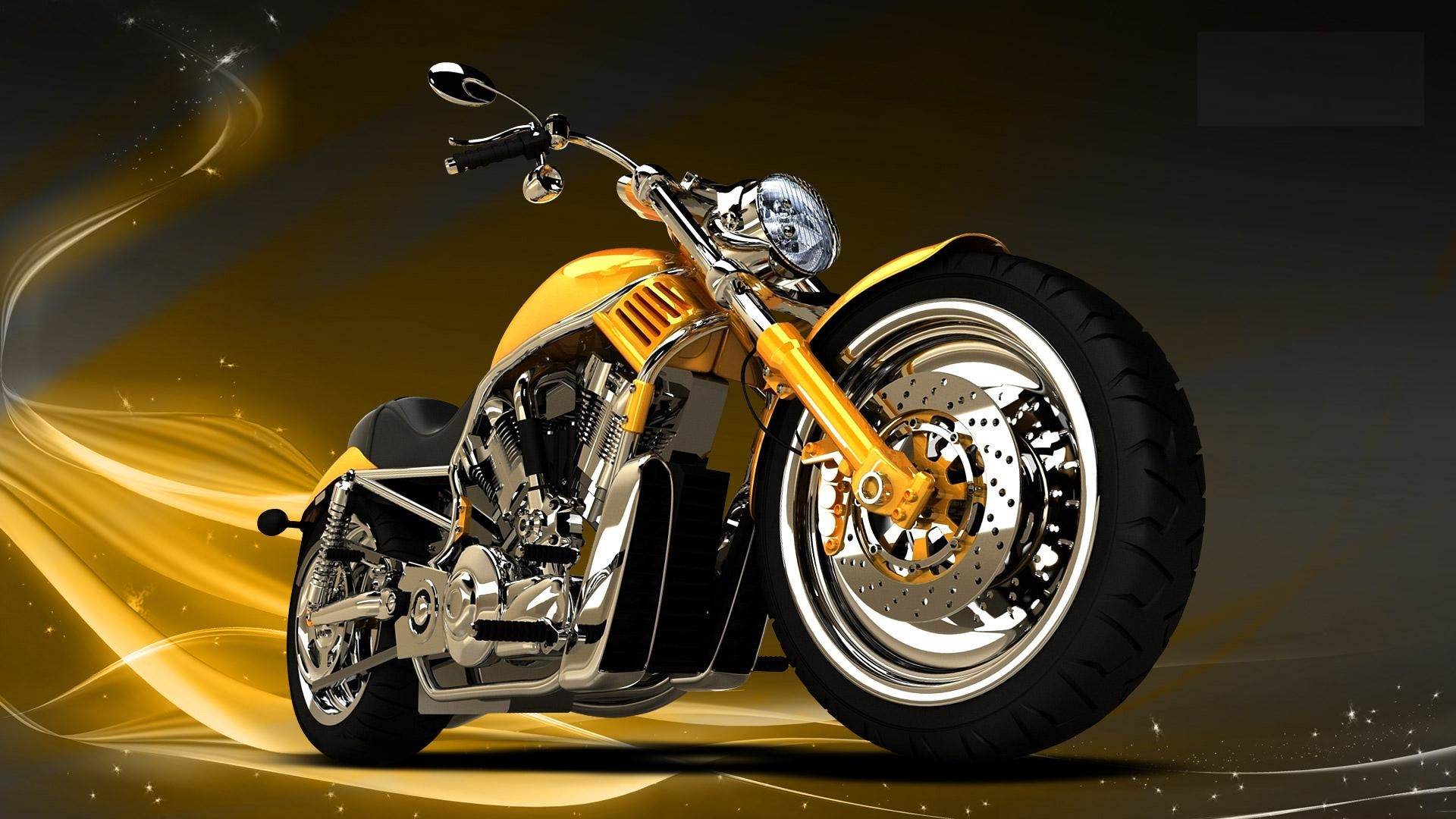 Yellow Bike 1920x1080 Hd Wallpapers 2013