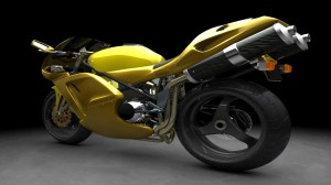 Yellow Sports Bike 1920x1080 HD Wallpaper For Desktop