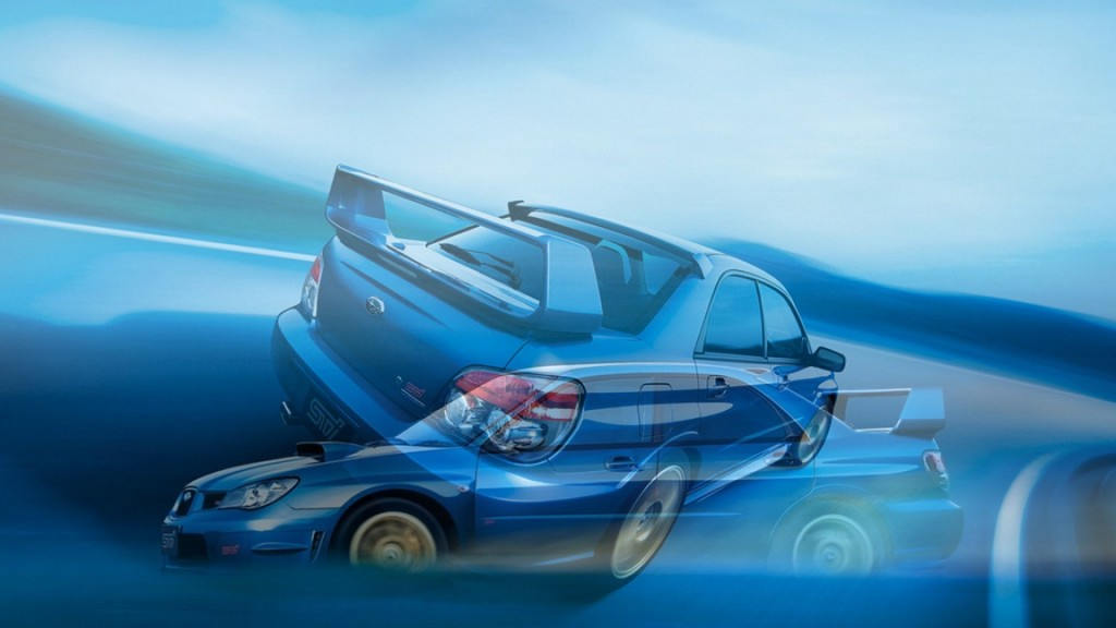 2006 Subaru Impreza Car HD Wallpaper For Desktop