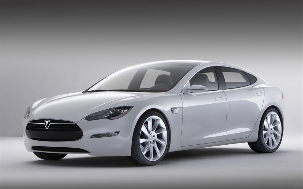 2013 Tesla Model S 1920x1200 HD Wallpapers For Desktop