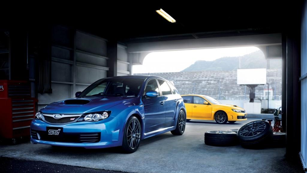 Blue Subaru Impreza HD Car Wallpaper 1920x1080 For Desktop
