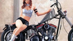 Cool Bike Girl HD Wallpaper Download