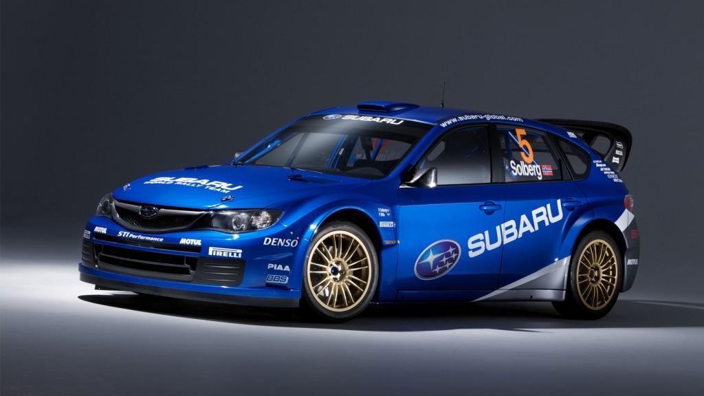 Monster Subaru Impreza Car HD Wallpaper For Desktop