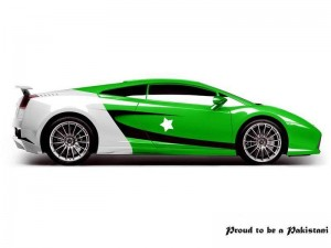 Pakistan Flag Printed On Car 14Th August Wallpaper free