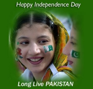Pakistan Independence Day Girl Celebration Wallpapers For HD Devices