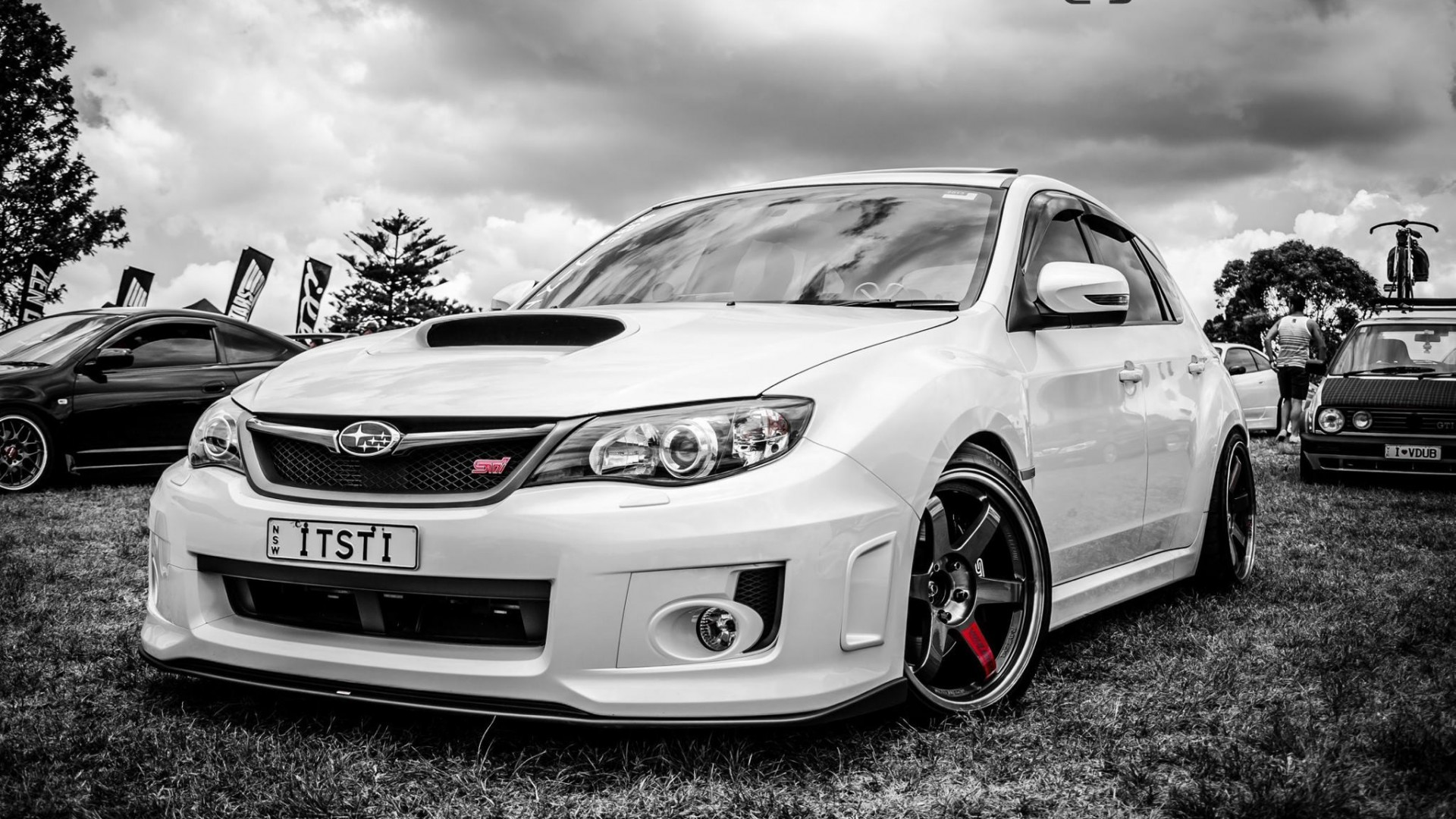 subaru impreza sti car hd wallpaper 1080p. Black Bedroom Furniture Sets. Home Design Ideas