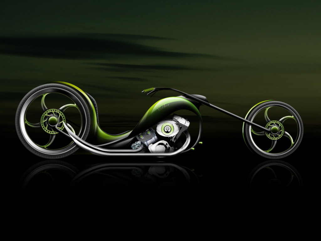 Abstract Bike Wallpaper HD For Free
