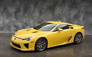 Lexus lfa 2012 car wide