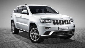 White 2013 Jeep Grand Cherokee Wallpaper