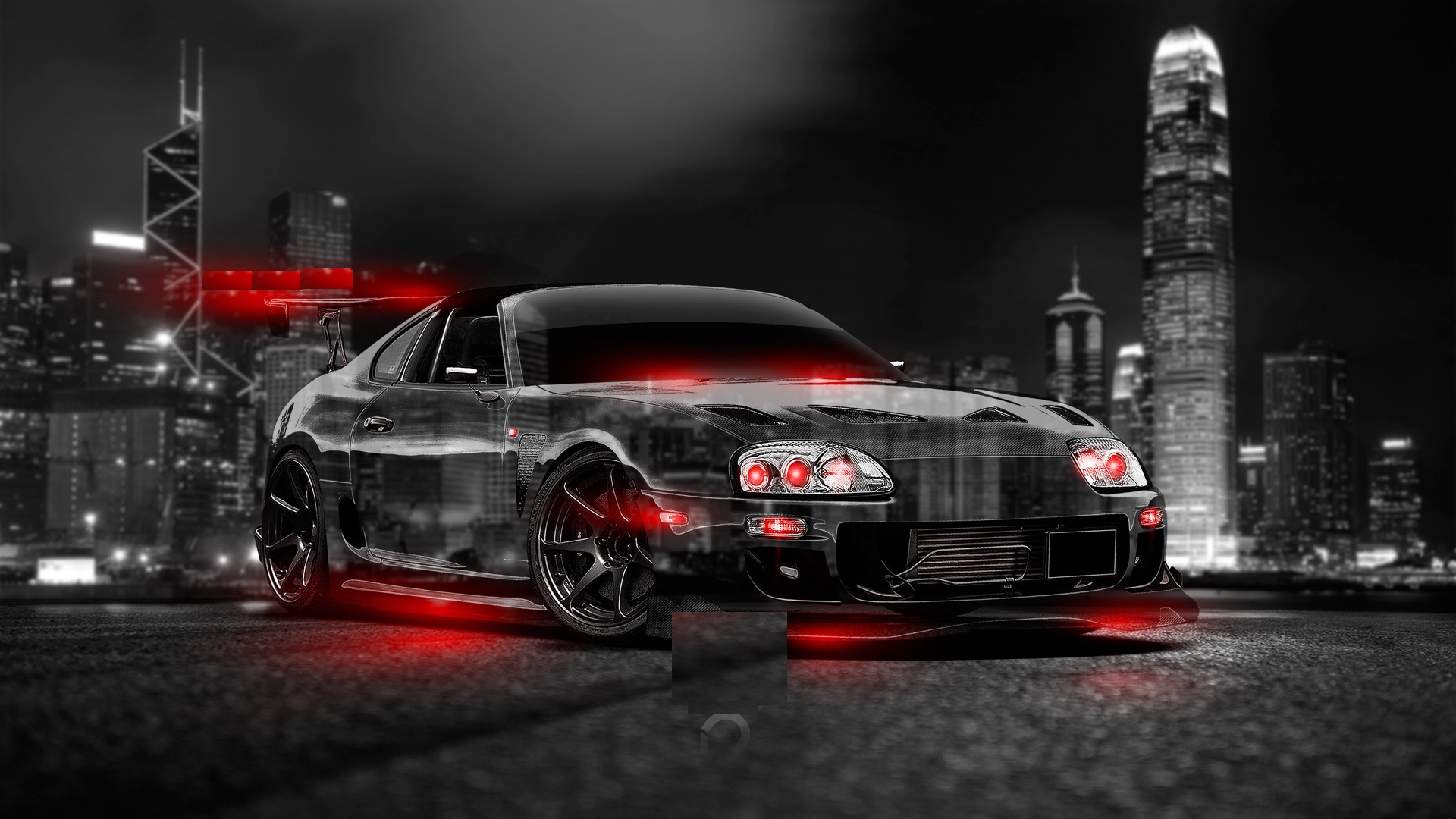 Abstract toyota supra HD Wallpaper - My Site