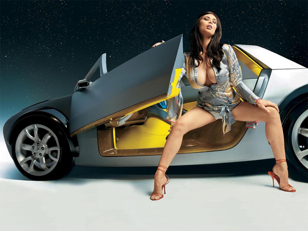 Girl Beautiful And Car Wallpapers Car Wallpapers